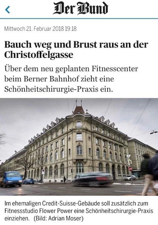 """Artikel im """"Bund"""" von heute Abend"""